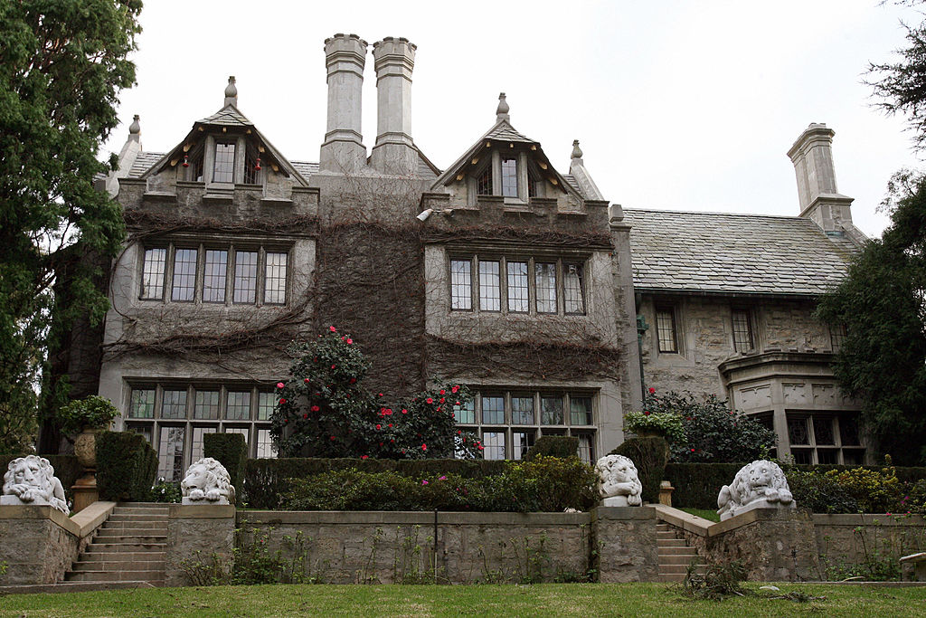 The Playboy Mansion in 2007