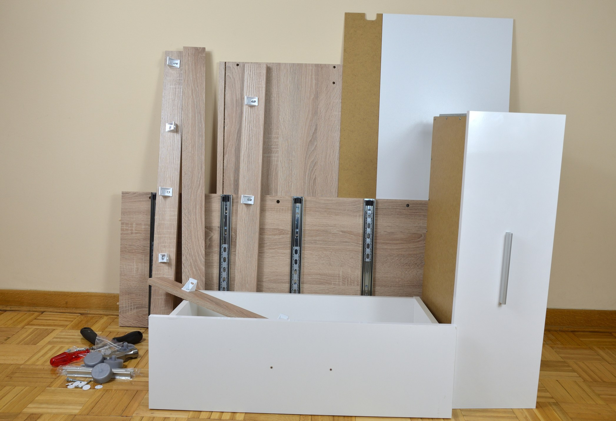 plywood cabinets