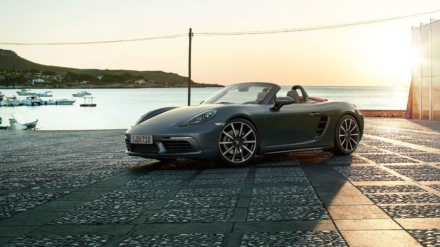 2017 Porsche 718 Boxter