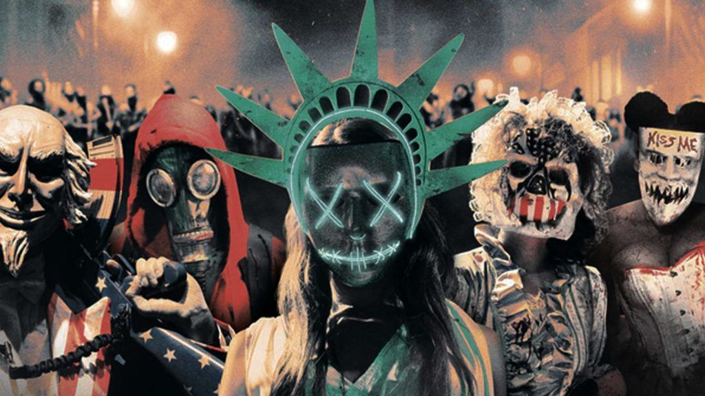 The poster for The Purge: Election Year