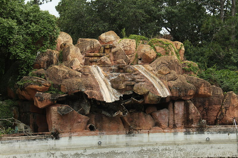 Ruin of River country Disney