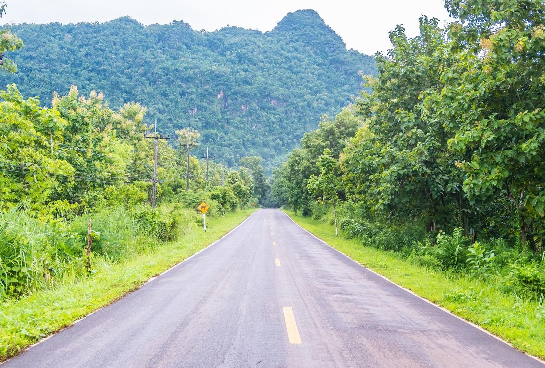 Open road Hawaii