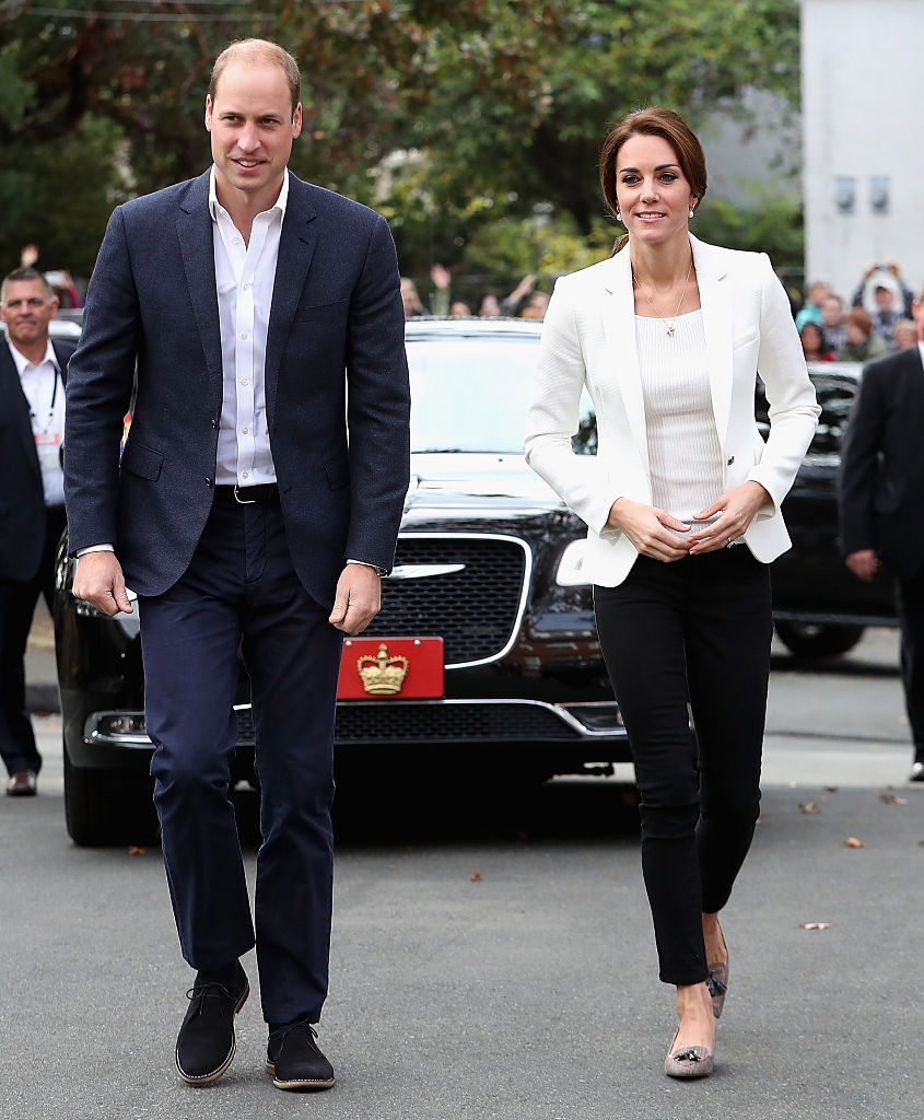 Prince William and Kate Middleton in Canada