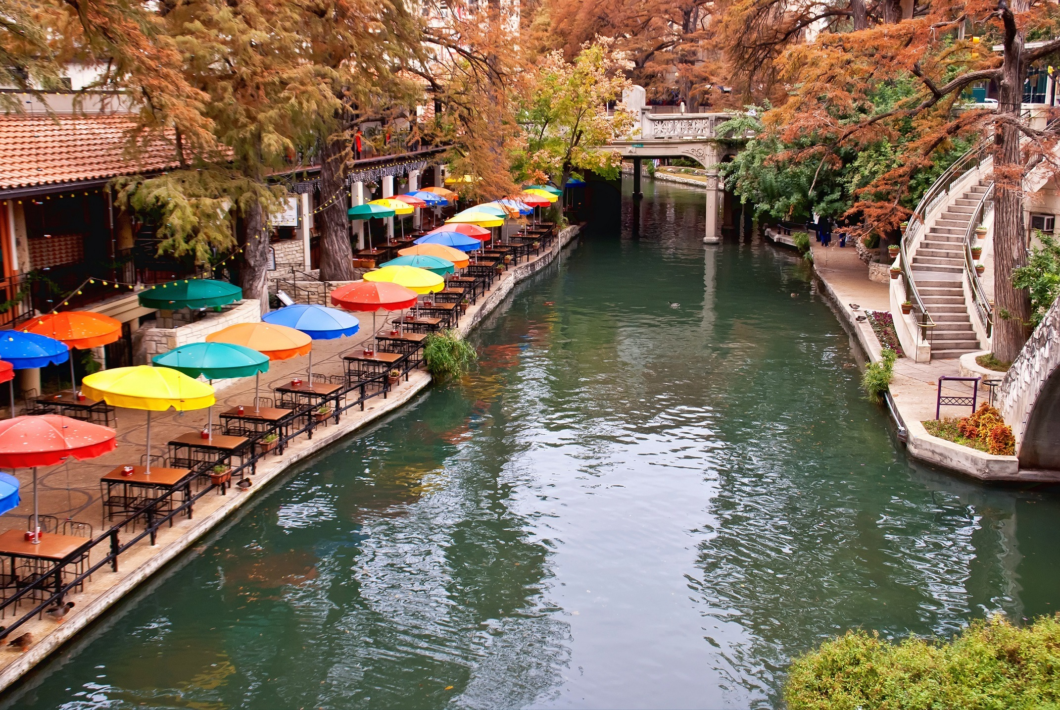Historic River Walk in San Antonio