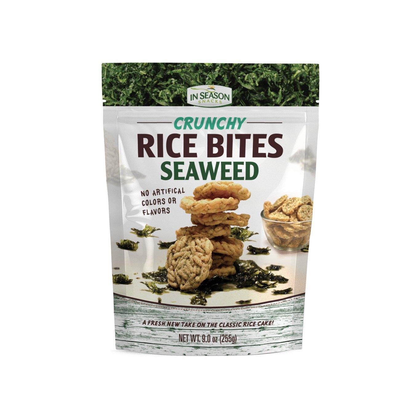 Seaweed crunchy rice bites costco