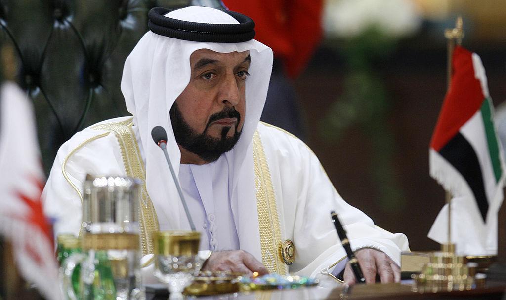 United Arab Emirates President Sheikh Khalifa Bin Zayed