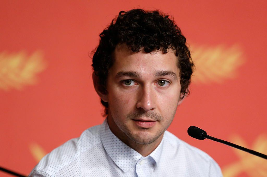 Shia LaBeouf in 2016