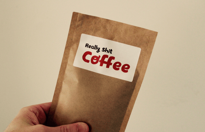 Terrible coffee