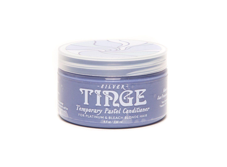 Tinge Pastel silver hair color