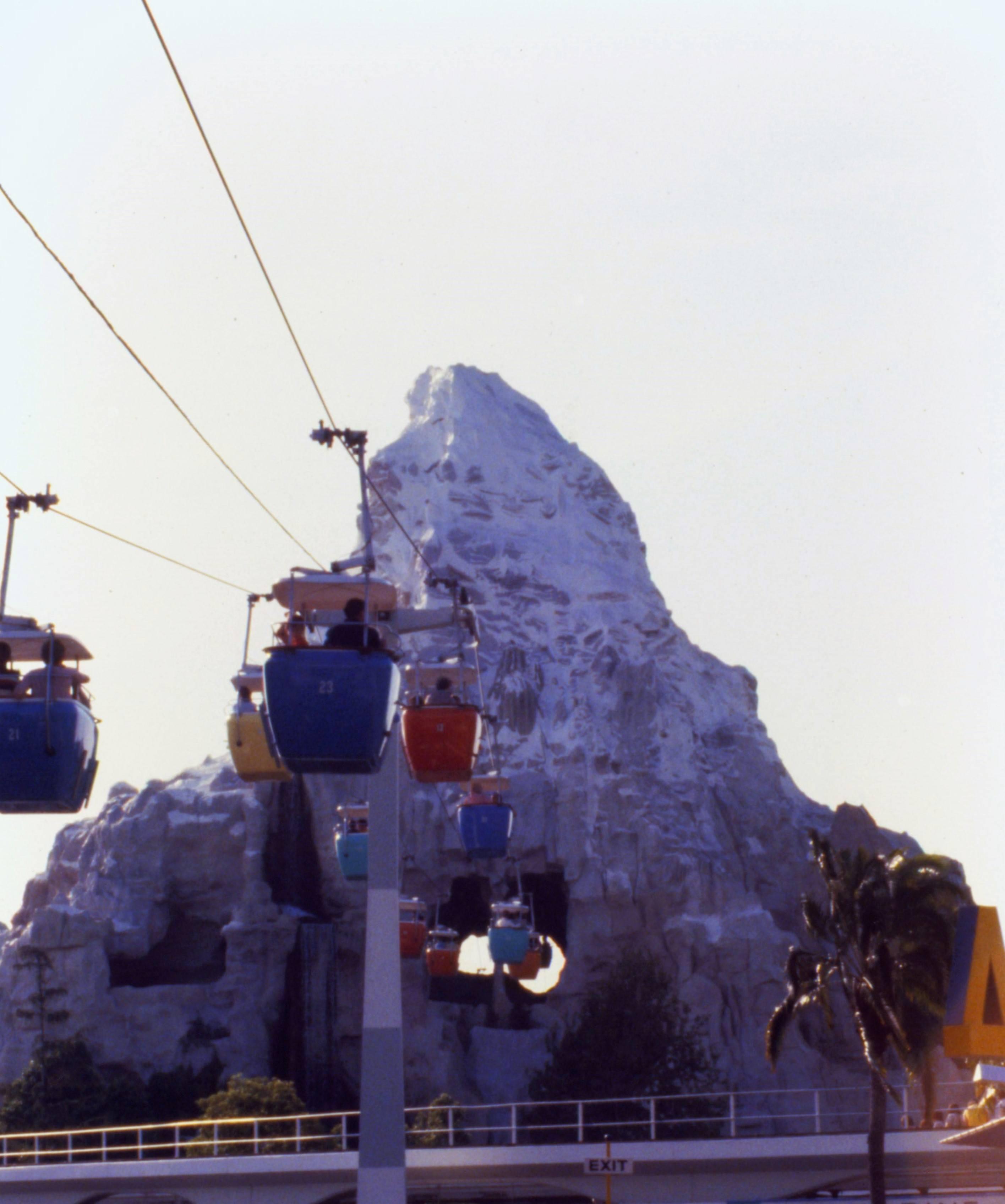 Disney Matterhorn Gondola Ride