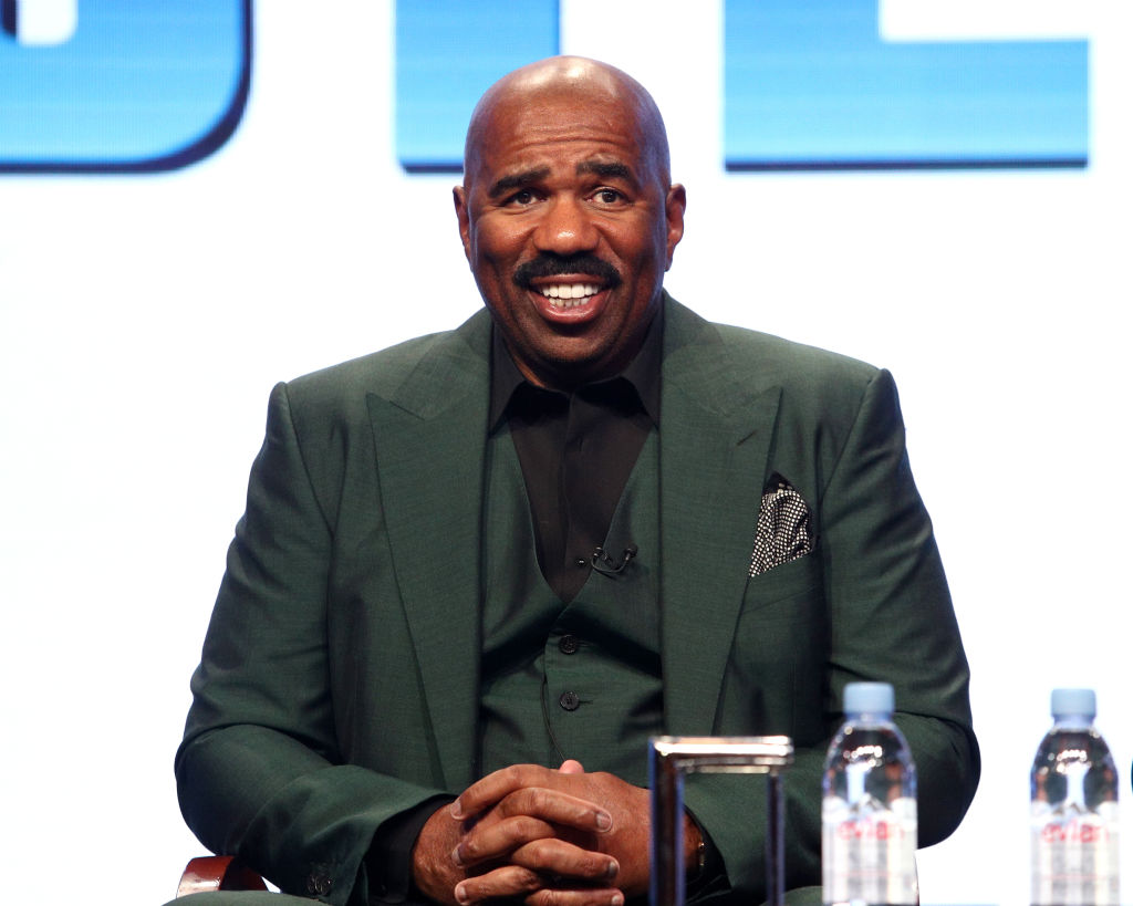 Steve Harvey in August 2017