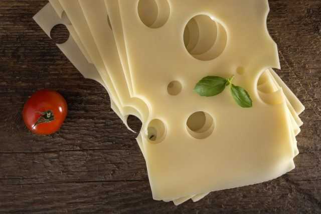 Emmental Swiss cheese