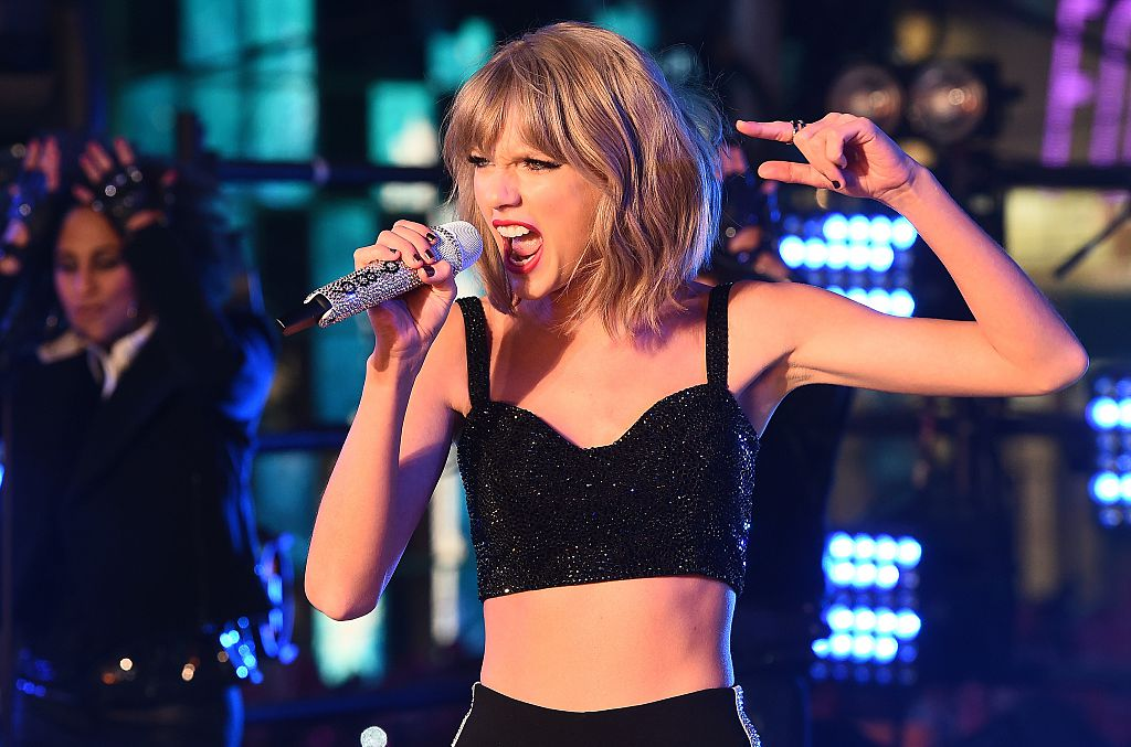 Taylor Swift angry face