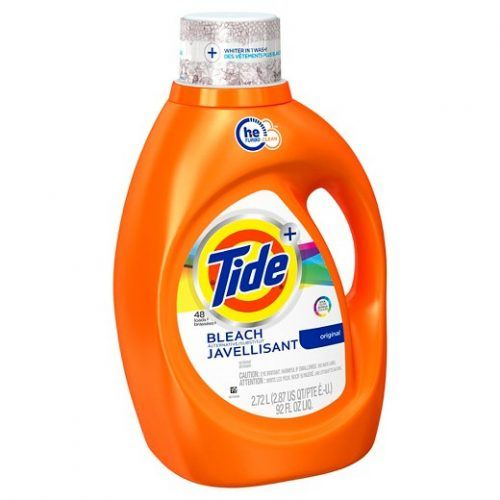 Tide with bleach alternative