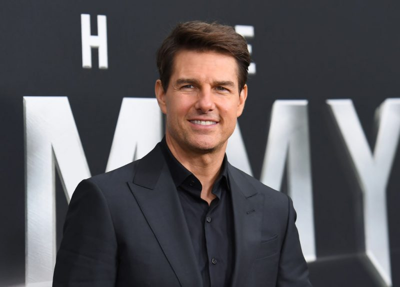 "Tom Cruise at the premiere of ""The Mummy"""