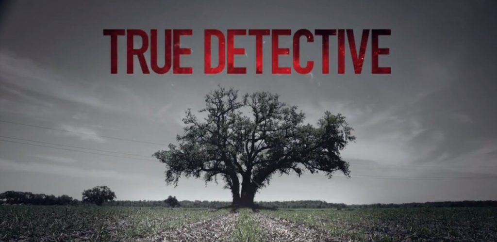 The logo of HBO's 'True Detective.'