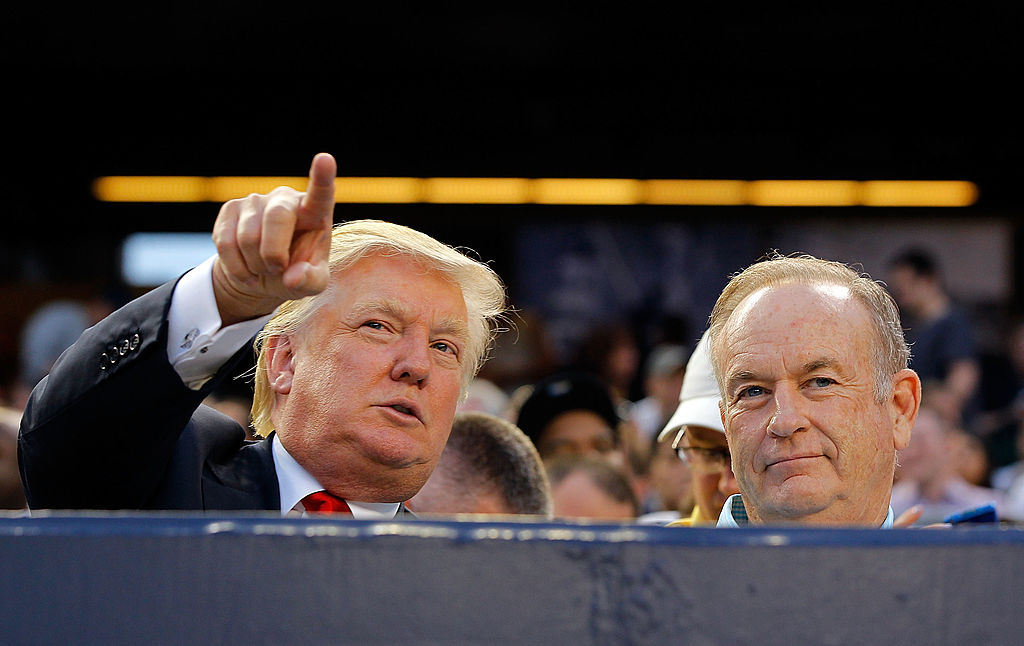 Trump and O'Reilly