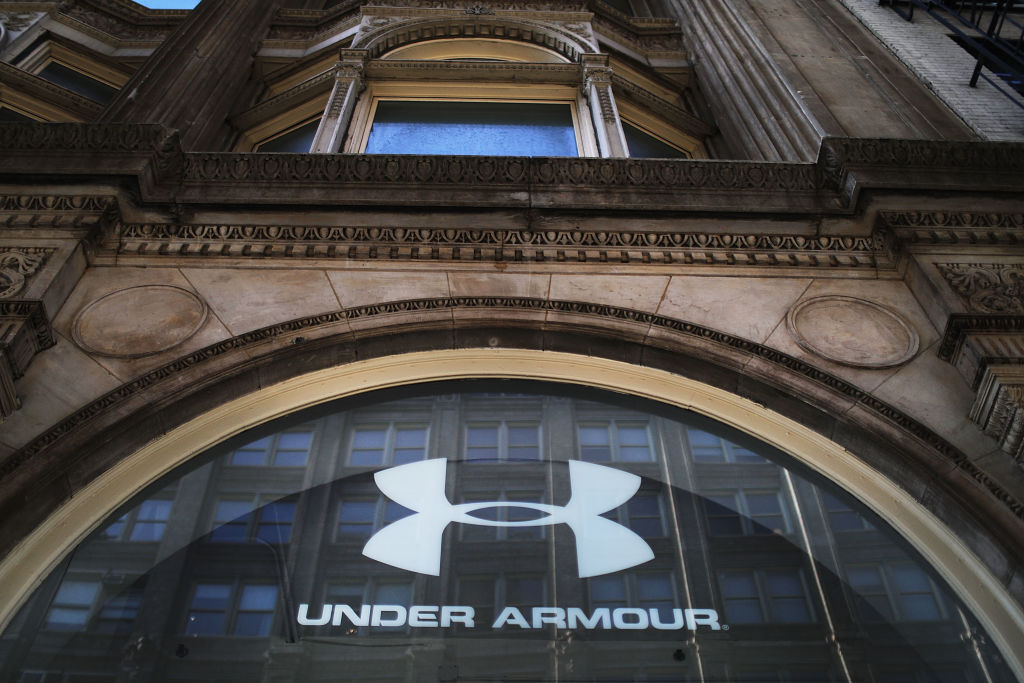 Under Armour store front in NYC
