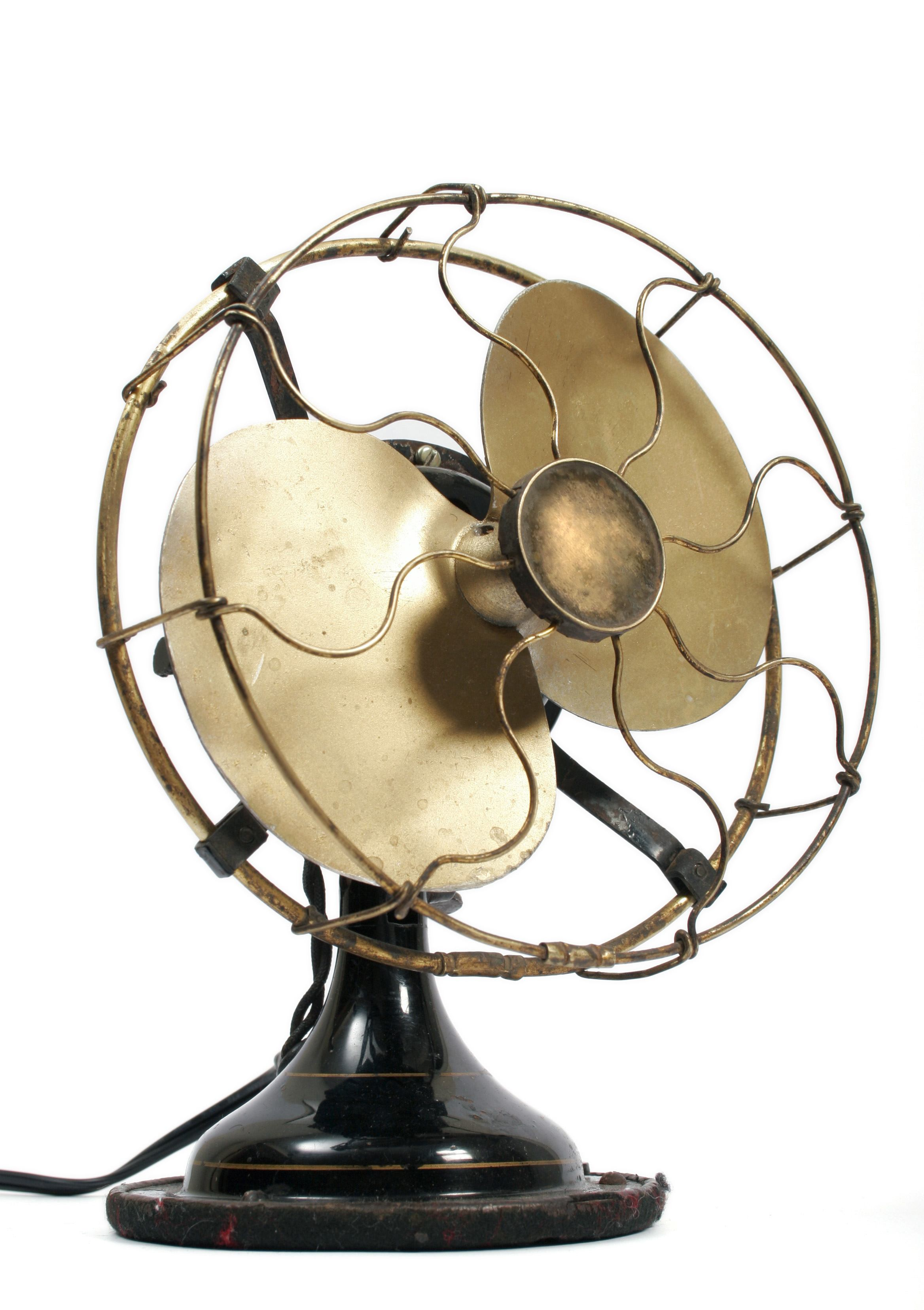 old antique fan