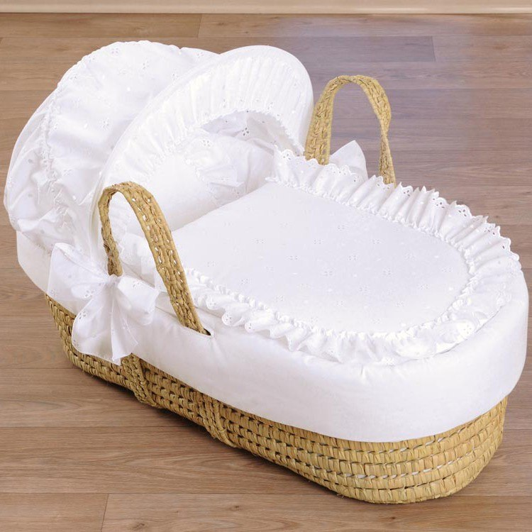 Wicker moses basket