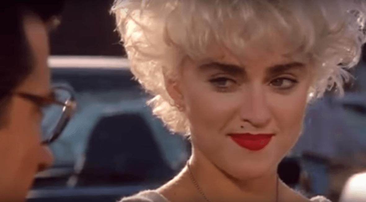 Madonna's untamed eyebrows