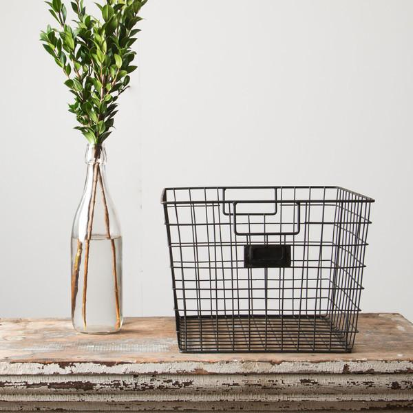basket and plant