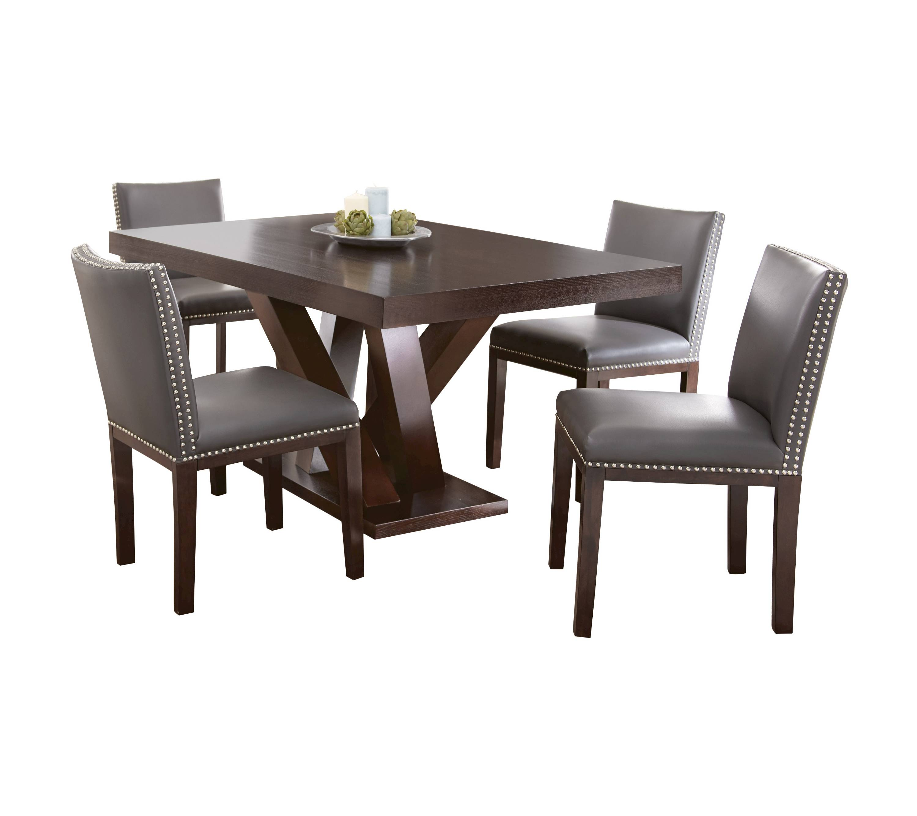 Whitney wood dining table