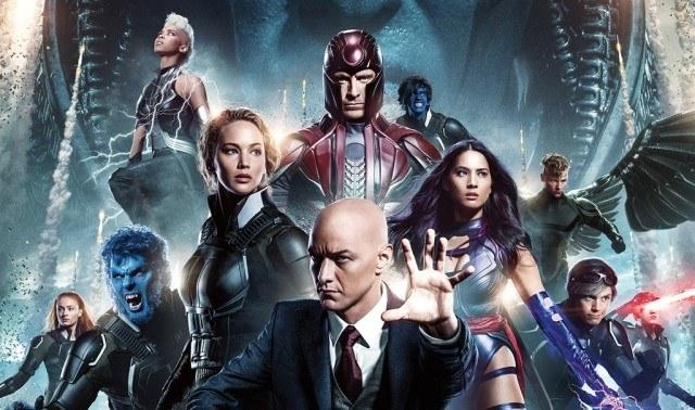 X-men characters in X-Men Apocalypse