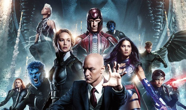 A group of characters from X-Men: Apocalypse