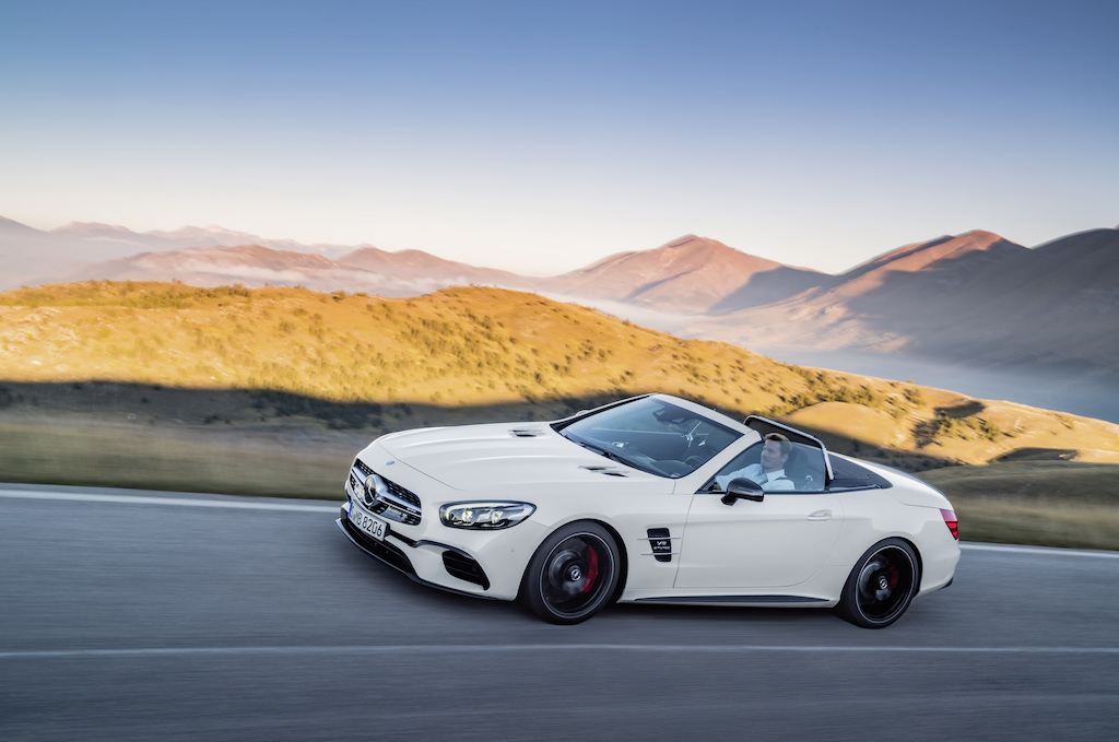 2017 Mercedes SL-Class