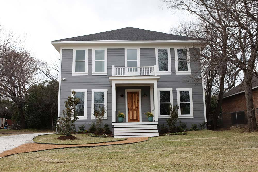 Fixer upper house exterior