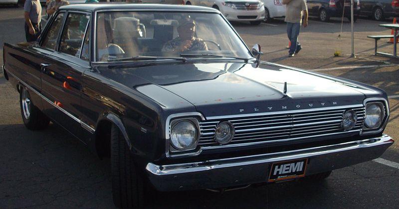 1966 Plymouth Belvedere Hemi