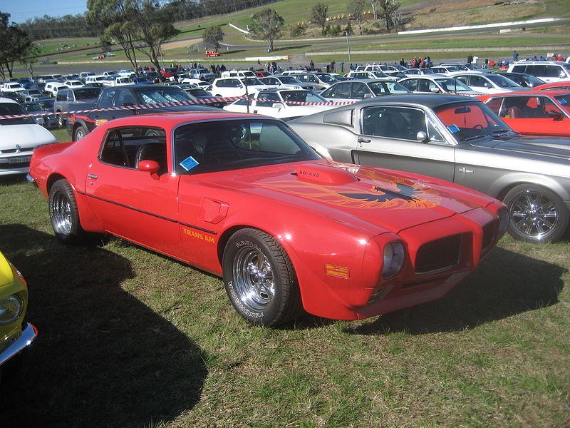 1973 Pontiac Trans Am SD455