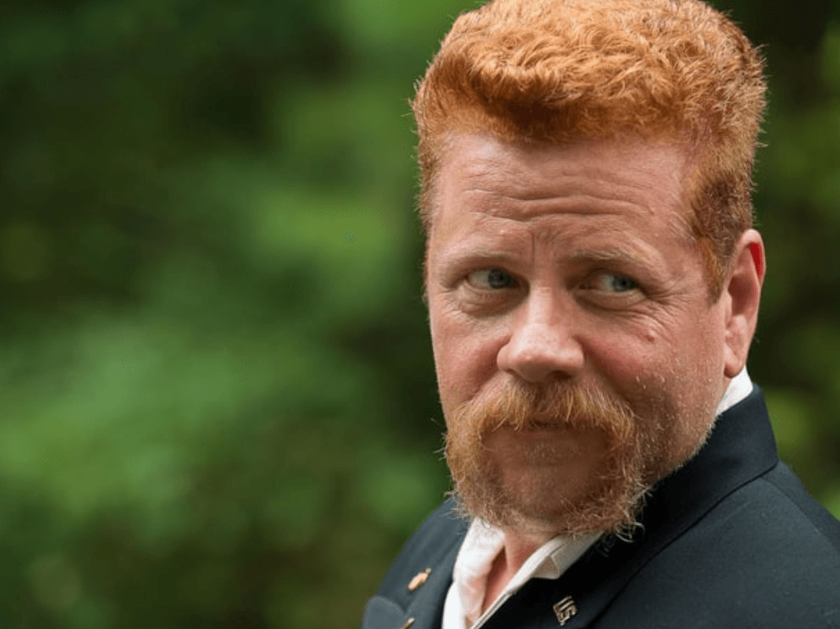 Abraham Ford looks over his shoulder