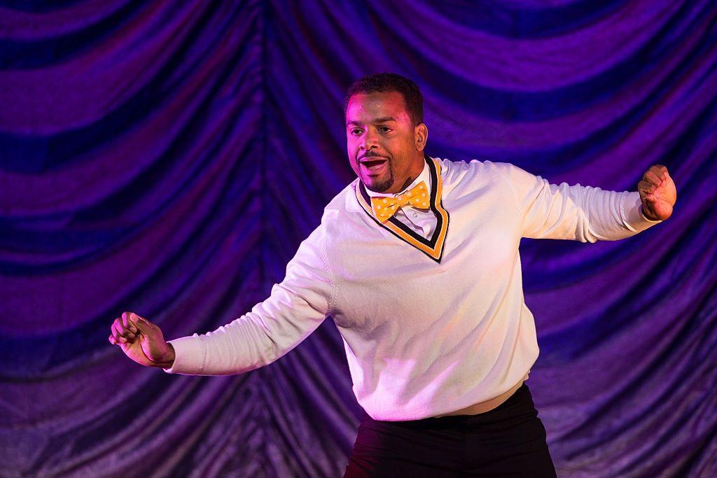 Alfonso Ribeiro performs