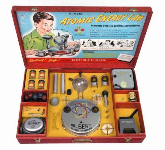 An Atomic Energy Lab kit.