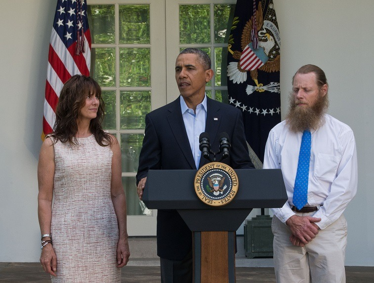 Obama makes statement about Bowe Bergdahl