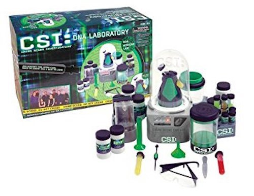 CSI: DNA Laboratory Kit and set.