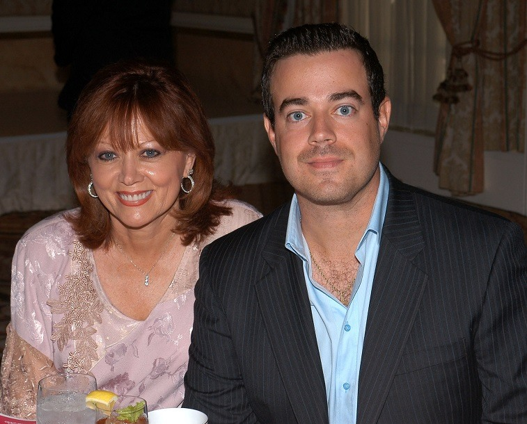 Carson Daly and his mother, Pattie Caruso Daly