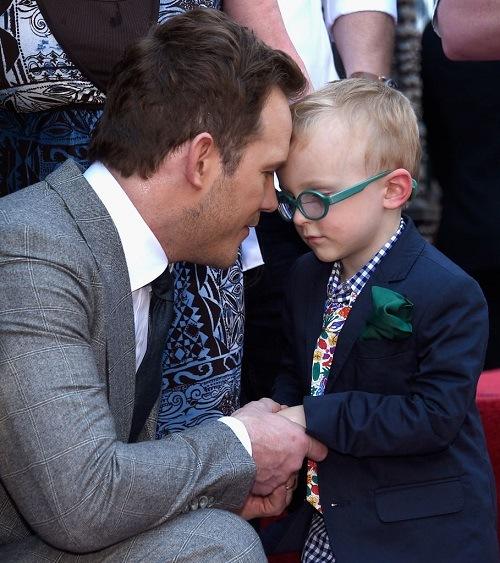 Chris Pratt & son Jack Pratt