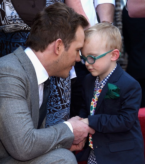Chris Pratt & son Jack Pratt