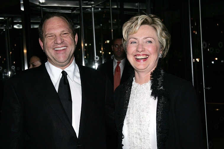 Hillary Clinton and Harvey Weinstein in 2004