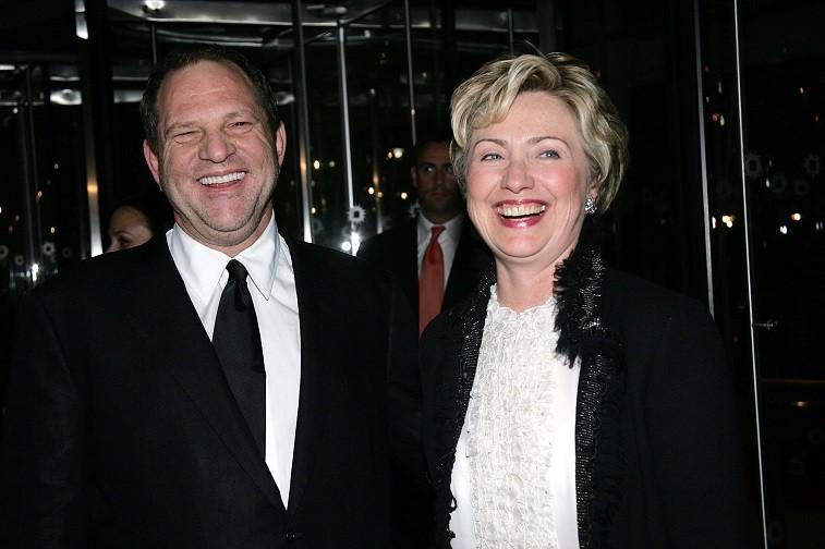 Hillary Clinton and Harvey Weinstein in 2004