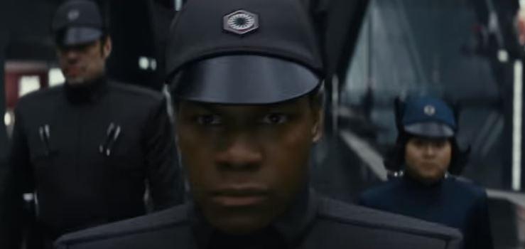 A scene from The Last Jedi
