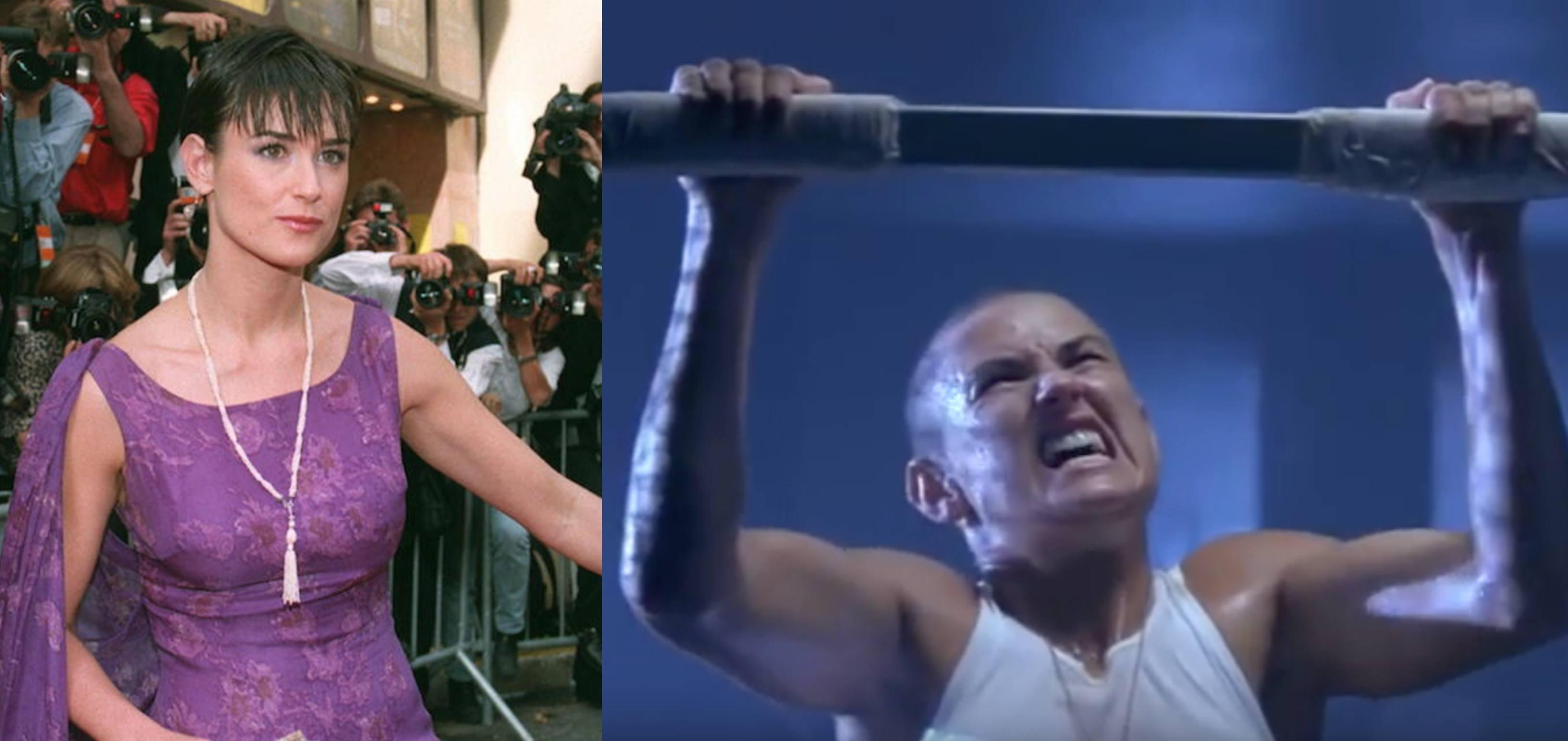 G.I. Jane's Demi Moore
