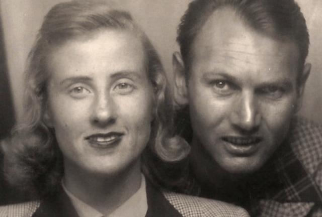 Don and Maxine Simpson smiling in a photograph.