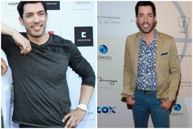Drew Scott's weight loss transformation.
