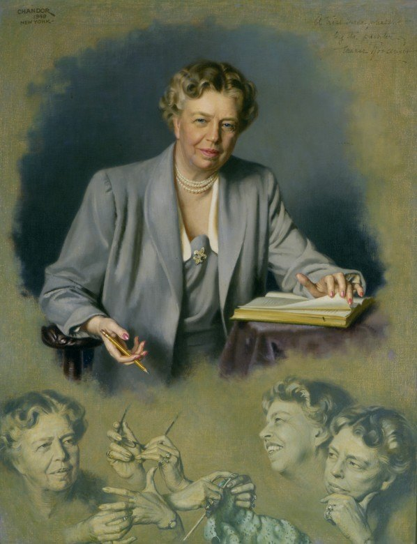 Eleanor Roosevelt potrait