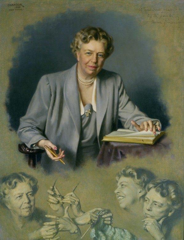 Eleanor Roosevelt potrait