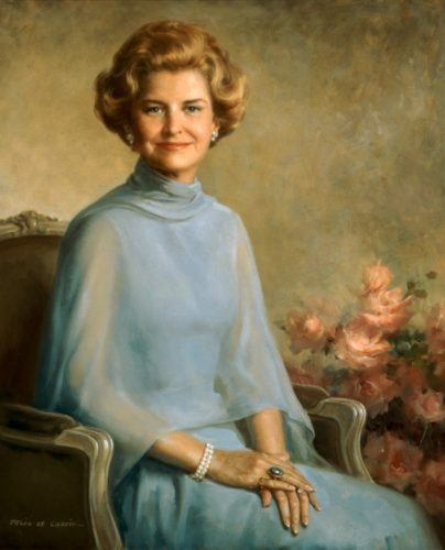 Betty Ford in a portait.